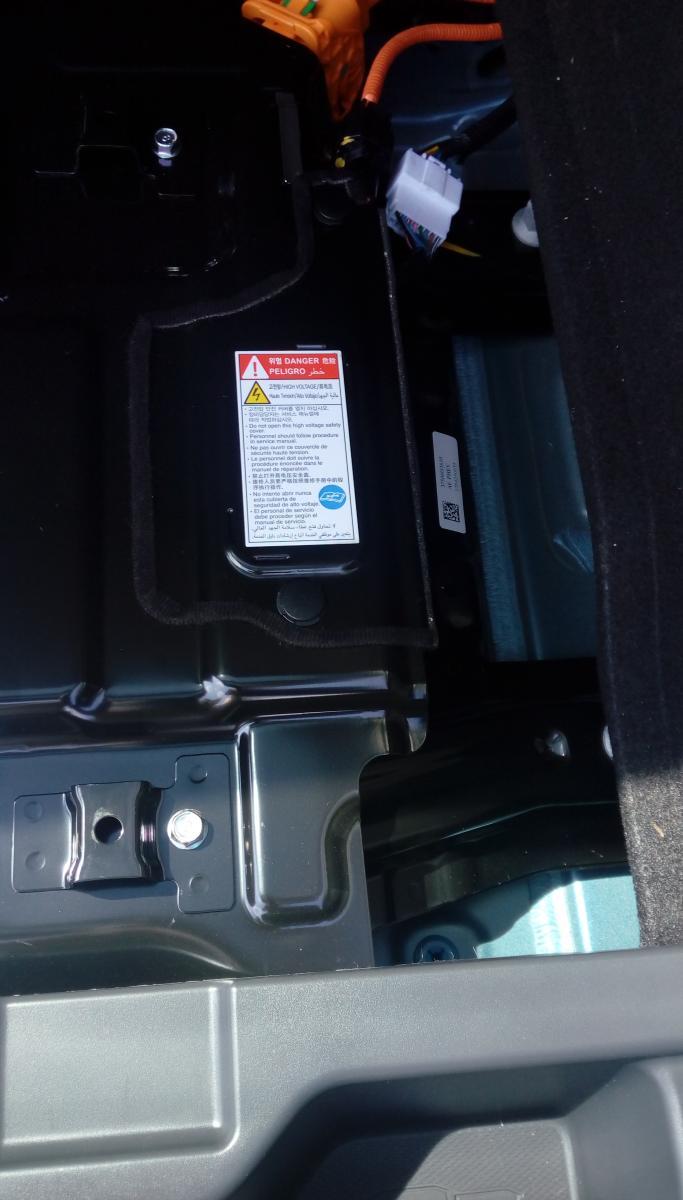 Anoying rattle from boot r/h side   Hyundai IONIQ Forum